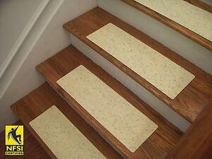 "NFSI High Traction - Vinyl Stair Tread Sets - Light Yellow (1161) -  24"" x 8"""