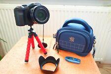 Lumix FZ200 l WIE NEU I 25x600mm l EXTRAS l Digital Bridge Kamera 24x FullH