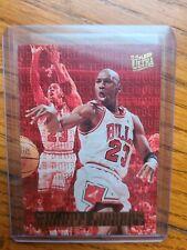 🔥1995-1996 Fleer ULTRA Michael Jordan Double Trouble Insert #3 Of 10! BULLS🔥📈
