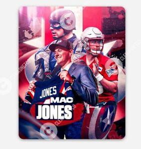 Mac Jones MAGNET - Rookie New England Patriots Captain America NFL QB
