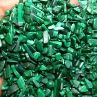 100g Rare Malachite Stone Tumbled Gemstone Crystal Green Natural Chip Stone