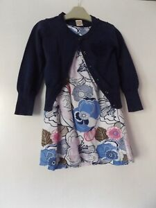 Old Navy outfit / set dress and cardigan aged 4 years