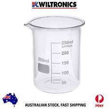 Beaker Borosilicate Glass Low Form 250ML X6 LG1101-250