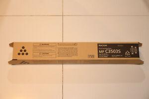 Ricoh Genuine Black Toner Cartridge For MP C3503S or MP C3003 ~ 841829 ~ Lanier
