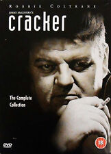 CRACKER COMPLETE SERIES DVD BOX SET Collection All Episodes New Brand Sealed UK