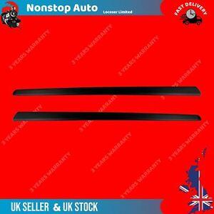 2 X DOOR MOULDING PANEL TRIM STRAP FITS FIAT 500 735488138, 735488137