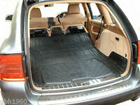 Modular rubber boot mat dog load liner bumper protector Porsche Cayenne 02-10