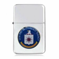 CENTRAL INTELLIGENCE AGENCY CIA  FLIP METAL PETROL LIGHTER