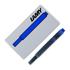 Lamy T10 Fountain Pen Ink Cartridges, 5-Count - Blue Ink