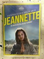 JEANNETTE LA INFANCIA DE JUANA DE ARCO MUSICAL DE BRUNO DUMONT DVD NUEVO AM