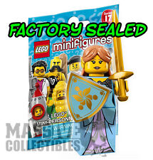 LEGO minifigures series 17 #15 Elf Warrior Girl FACTORY SEALED PACK 71018 elven