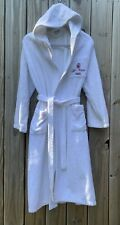 Emmebiesse Hooded Bath Robe San Marco Hotels One Size White Terrycloth Italy