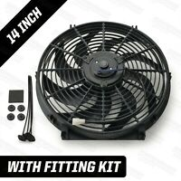 "14"" Electric Radiator Cooling Fan 220W 12 Volt Powermax"