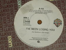 "A-HA *RARE 7"" 45 ' I'VE BEEN LOSING YOU ' 1986 EXC"