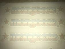 Mongoose Old school BMX années 80 made Water Slide Decal Set new old stock lot de 4