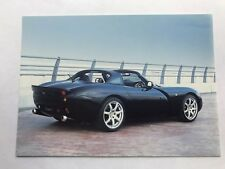 TVR Tuscan S Speed Six Car UK Market Postcard Style Leaflet Brochure Spec Sheet