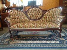victoria cameo couch flowered settee  sofa  6 foot long