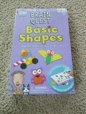 Nib New Colorforms Brain Quest Basic Shapes Sealed New in Box