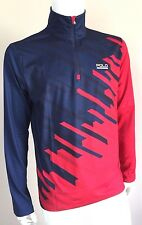 RALPH LAUREN POLO SPORT FRENCH NAVY & RED THERMOVENT LONG SLEEVE TOP SIZE XL