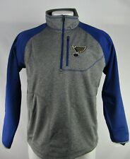 St. Louis Blues NHL G-III Men's Quarter-Zip Track Jacket