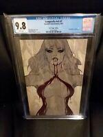 """Vampirella V5 #1  Artgerm  """"Virgin""""            Sneak Peek Variant  CGC 9.8"""