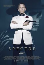 Spectre Movie Poster (24x36) - 007 James Bond, Daniel Craig, Monica Bellucci v2