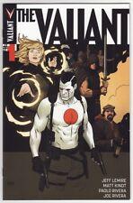 THE VALIANT #1,2,3,4 Valiant Comics Bloodshot Harbinger Ninjak 1ST PRINTINGS SET