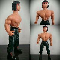Rare Vintage JOHN RAMBO Knock Off Bootleg Action Figure 5 Inch KO BL Custom