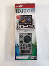 New Open Box ION iDJ2GO DJ System for iPad, iPhone, and iPod Touch (HD32)