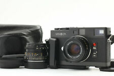 【N MINT】 Minolta CLE 35mm Film Camera w/ M-Rokkor 40mm 28mm 2LENS From JAPAN 223