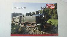 LGB Herbst 2018 Neuheiten Katalog Broschüre Faltblatt  B-12890