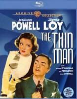 THE THIN MAN (1933) Blu ray NEW William Powell Myrna Loy NICE!