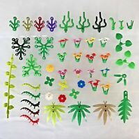 LEGO Foliage Pack 30 x Mixed LEGO Flowers Stem Plants Trees - Garden Accessories