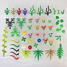 LEGO Foliage Bundle 30 x Mixed Greenery / Flowers / Stem / Plants / Trees - Set