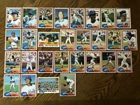1981 NEW YORK METS Topps COMPLETE Baseball Team Set 28 Cards MAZZILLI WILSON RC