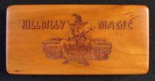 Marbles Jabo Inc. 9-19-2011 Hillbilly Magic Wood collector set