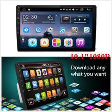 "10.1""1080P 2Din Touch Screen Quad-Core 1+16G Car Stereo Radio GPS Wifi 4G BT DAB"