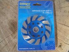 "4 Inch 4"" Diamond Segment Grinding Cup Wheel Disc Grinder Concrete Granite Stone"
