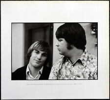 More details for the beach boys poster page . 1968 brian wilson & dennis wilson . m40