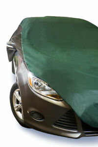 USA Made Car Cover Green/Black fits Nissan cube  2009 2010 2011 2012 2013 2014