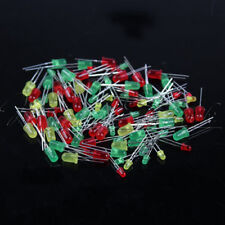 100PCS Light Emitting Diode LED 5mm 3mm Red Green Yellow for Arduino Raspberry