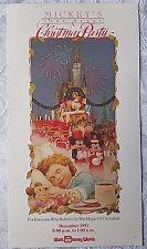 RARE 1993 WALT DISNEY WORLD MICKEY'S VERY MERRY CHRISTMAS PARTY PROGRAM & MAP