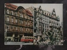 1931 Katowice  Poland Picture Postcard Maxi Cover to Budapest Hungary
