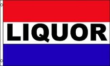 Liquor 3x5 Flag Package Store Advertising Sign Banner Alcohol Wine Spirits Bar