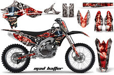 YAMAHA YZF 450 Graphic Kit AMR Racing # Plates Decal Sticker Part 10-13 MHRS