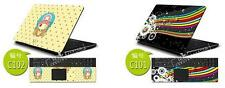"Laptop Skin Cover Sticker For 14"" 15.6"" HP Asus Dell Aser Toshiba Sony"