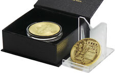 BITCOIN  24k Gold Plated  Luxury Gift for Digital Currency Wallet Commemorative