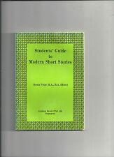 Students' Guide to Modern Short Stories Denis Frize Graham Brash Singapore 13 @@