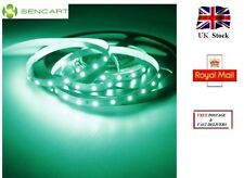 5 Meters GREEN LED Light Strip 60 SMD - 2835 1500LM Cuttable Adhesive DC 12V UK