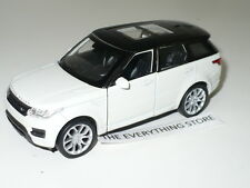 WELLY RANGE ROVER SPORT SUV WHITE FREE SHIP